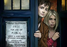 The Doctor and his Rose by Kat-Anni