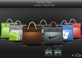Market Place icons by i0d