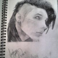 Andy Biersack by ylopez710