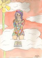 Lucy in the sky by MOURNING-SKY