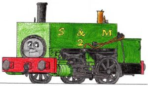 Neil the Box Tank Engine by 01Salty