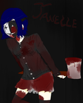 Janelle wants to wish you an early Happy Halloween by BestNess