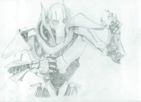 General Grievous by MistyWoods101