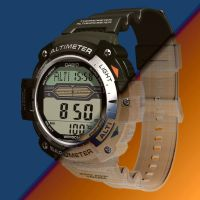 Casio Digital Watch Altimeter/Barometer by Emigepa