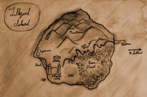 Lillegard Island Map by habren