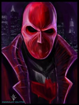 Red Hood/Jason Todd by Indrajit03