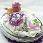 Posh Poodle Sweets Deco Mirror by AndyGlamasaurus