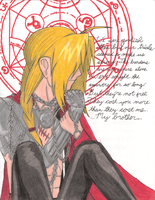 FMA - Edward Elric pic :color: by CrystalKnuckles16