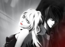 DeathNote: Light and Misa by Steven3k