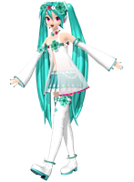 Project Diva Arcade Future Tone Spiritual Miku by Luke-Flame