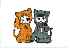 HR Kitties by Leviathan2010