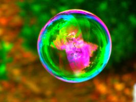 Rainbow bubble 2 by Mental-Chick12345