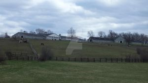 Almost  full view of upstate stable by WistfulDesigns