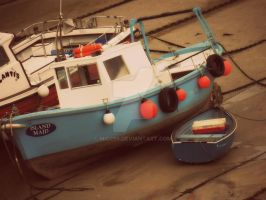 Newquay boats by Mio299
