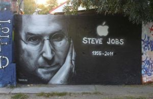 Memorable graffity about Steve by LadyNaginiWesker