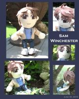 SPN Sam Plushie by LauraDoodles