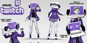 MOTME: Twitch by MMD-Rawrz