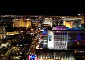 Las Vegas Strip at Night by sweetcivic