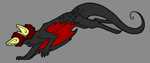 Simple Vulture Dragons - 1 by AliceTheHunted