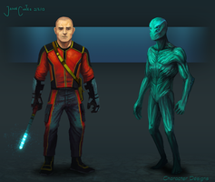 Character Designs by AtTheSpeedOfFetus