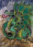 ACEO Dragon 18 by rachaelm5