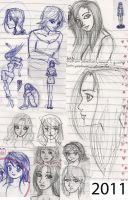 Drawing in the Class 04 by NatBelus
