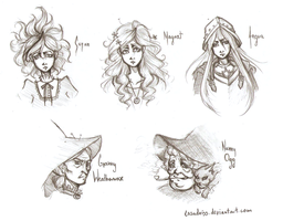 Discworld Sketches by Casadriss