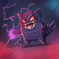 GENGAR! by MichelVerdu