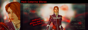 Pack Caterina Sforza 01 by BellaBlackCullen
