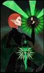 Tarot: The Inquisitor by Zethian