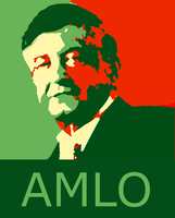 AMLO 2012 Estilo Obama Obey by MikeWong2795
