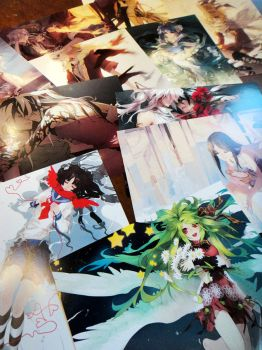 Postcards by shilin