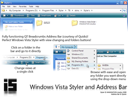 Vista Styler + Address Bar RC1 by salmanarif