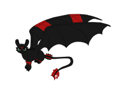 Toothless Animated Full view by Themystichusky