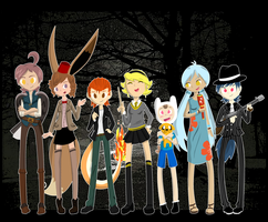 Team Allie: Halloween 2012 by SacredLugia