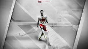 Lewandowski Wallpaper by EsegaGraphic