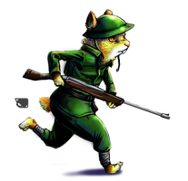 Rodent Soldier by Andalar
