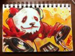 DJ Red Panda by Jarrad113