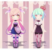 CUTE ADOPTABLES (OPEN!!) by MeiPei
