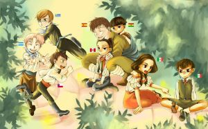 Axis Powers Hetalia by Battagua