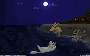 Skinny Dipping by Auilix