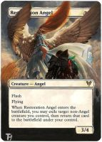 Restoration angel - Alter art by TomGreystone
