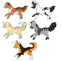 Dogs - Adoptable (Closed) by Adopts-Only