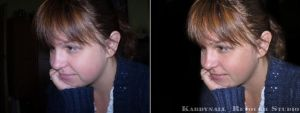Maxi Natural Retouch Before and After by Krisu00r34