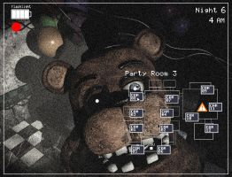 Five Nights at Freddy's 2 camera template by KaleidonKep99