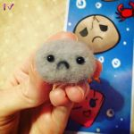 Needle Felted Rock by FaithWalkers