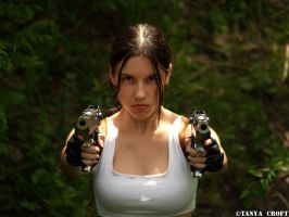 Lara Croft - double impact by TanyaCroft