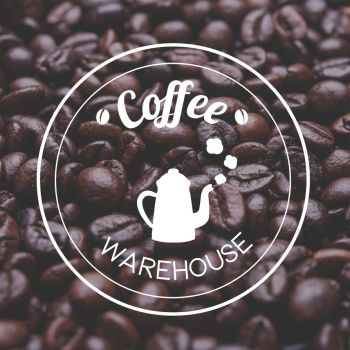 Coffee Warehouse Logo Concept by Antu