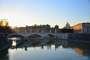 Sunset in Rome by nebovoblakax