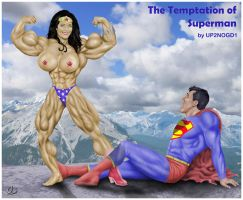 The temptation of Superman by up2nogd1